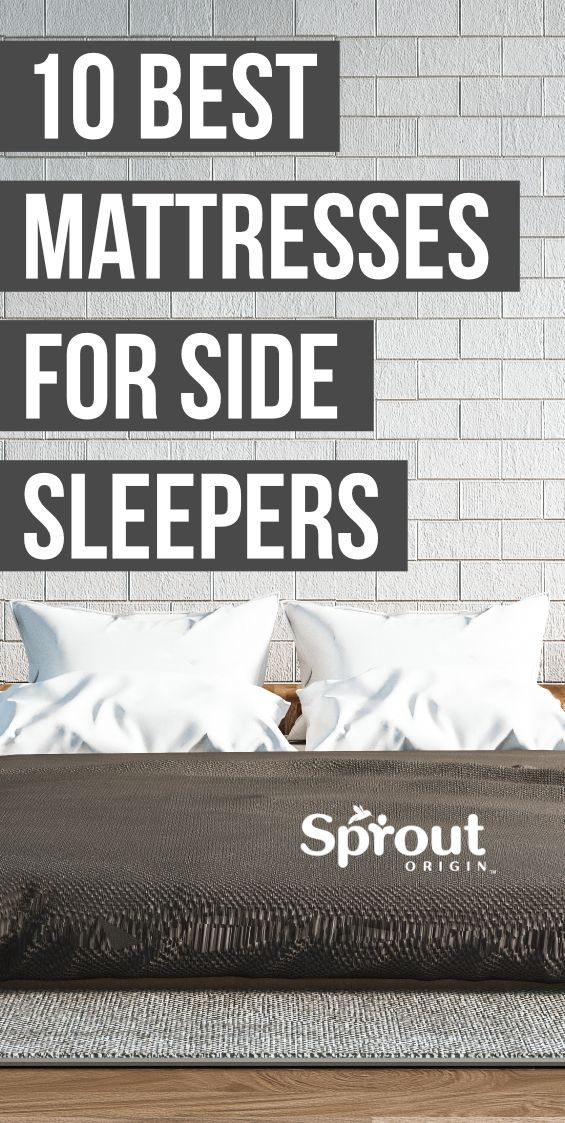 10 Best Mattresses for Side Sleepers in 2020 (With images