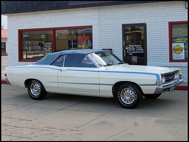 1968 Ford Torino Gt Convertible Ford Fairlane 500
