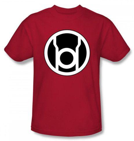 Green Lantern Red Lantern Symbol Shirts   Red lantern, Dc
