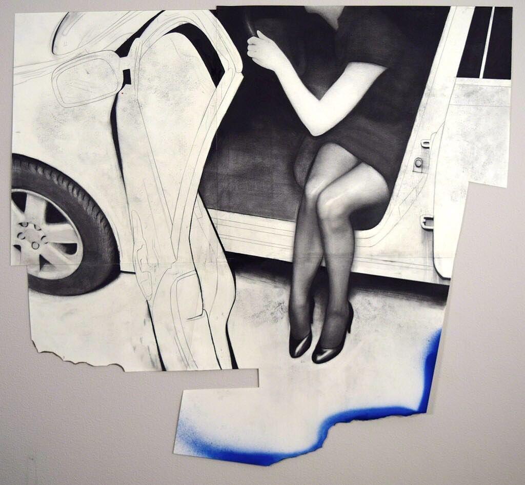 Runaway 2016. By Daniel Segrove.  #DanielSegrove #DLTD_SCENES #Magazine #DailyInspiration #konst #art