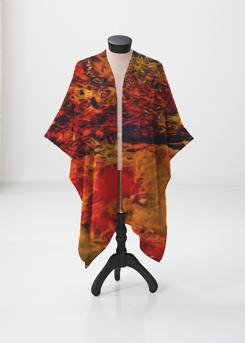 Our stunning 'Firebird Sheer Wrap' is available now and only online at  https://www.shopvida.com/collections/chris-barre-liveeachadventure-com/products/firebird-sheer-wrap  #womens #girls #fashion #clothing #accessories