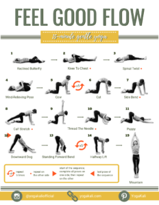 this short and gentle yoga routine will make you feel good