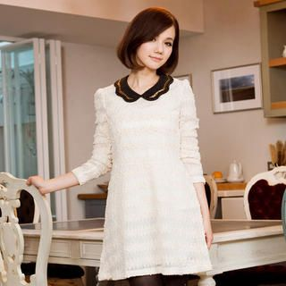 Buy 'CatWorld – Sequined Lace Dress' at YesStyle.com plus more Taiwan items and get Free International Shipping on qualifying orders.