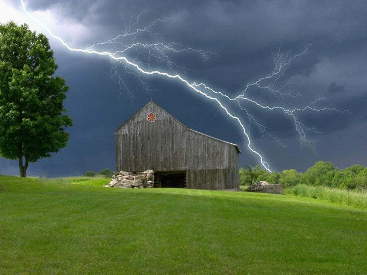 Storm Approaching With Images