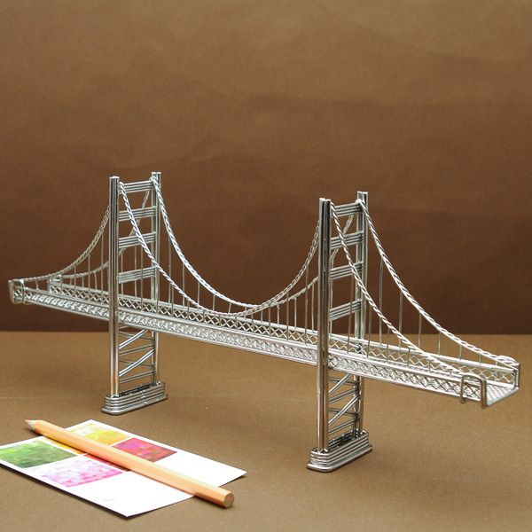 Modelling a suspension bridge essay