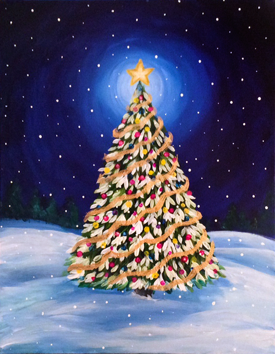 Holiday Family Paint Session At Graffiti Paintbar New