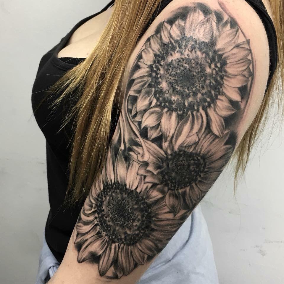 Girassol tatuagem pinterest