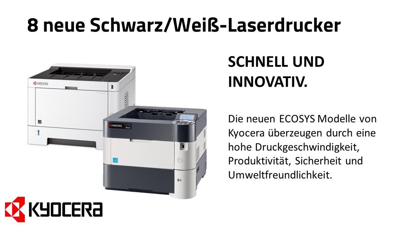 Neue Kyocera Drucker Fur Eine Verbesserte Buroproduktivitat