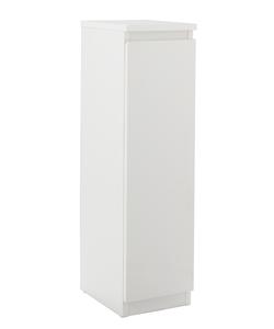Bathroom Floor Cabinets, Argos Home Gloss Bathroom Floor Cabinet White