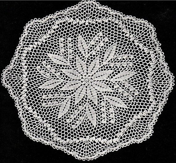 I have re-typed and re-formatted this wonderful vintage doily pattern from the late fifties. You will receive full instructions as well as a large picture of the finished product (please note: you are only buying the pattern, not the finished project).  I put a lot of time into re-creating this pattern, please do not resell it (items made using this pattern are yours to sell, give as gifts and most of all enjoy) I look forward to see some of the projects created using these hard to find…