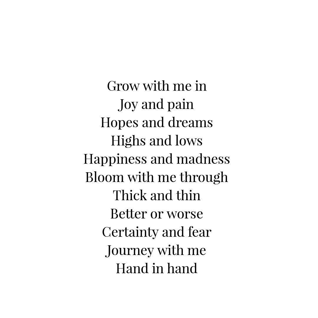 Really deep love poems