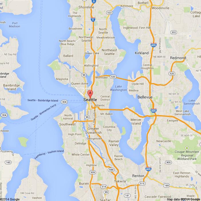 seattle washington - Google Maps | Northwest Restaurant Love ...