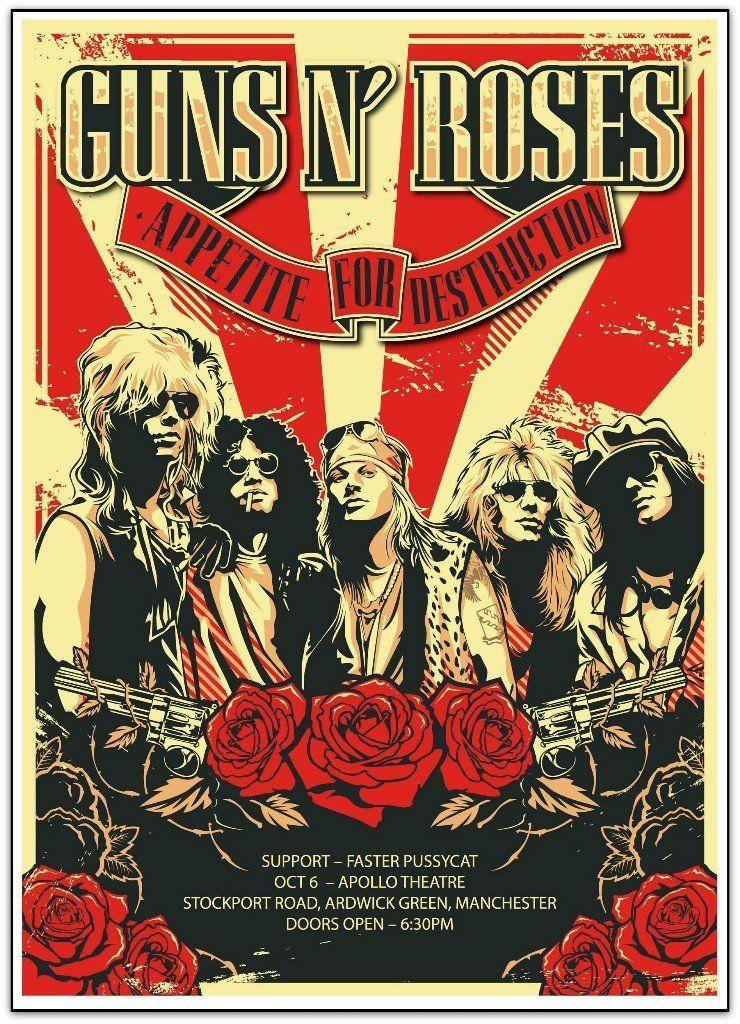Guns N' Roses (Manchester, 1987)