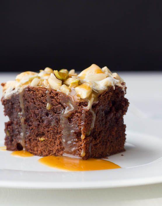 Marshmallow Nuss Brownie - Schokoladige Kalorienbombe mit Sahnekaramell