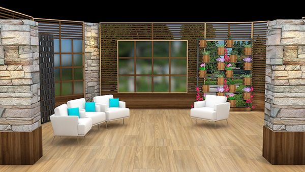 My 3D Portfolio ARY NEWS THE MORNING SHOW Set Design on Behance ...