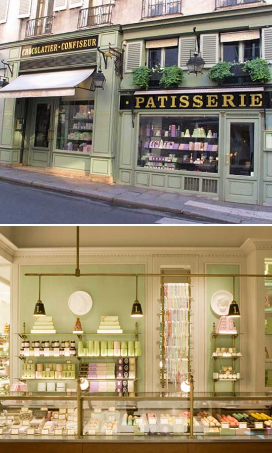 The famous laduree patisserie in paris.