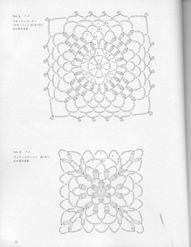 motif and edging crochet | make handmade, crochet, craft | Crøchet ...