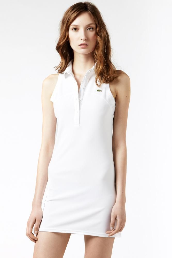 20c7d4d0 lacoste #dress $53 Tennis Fashion, Polo Shirt, Chic Outfits, Dress Outfits,