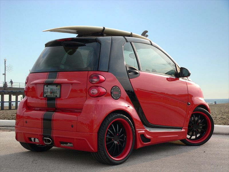 Smart Fortwo Custom Smart Car Accessories Smart Car Smart Brabus
