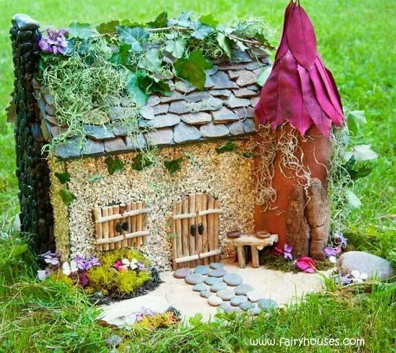 Love this fairy cottage