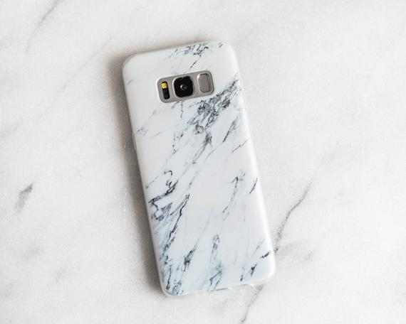 Flexible Galaxy S8 Phone Case Marble Samsung Galaxy S9 Plus Case Soft Samsung S8 Case Iphone X Case Galaxy S8 Phone Cases Phone Cases Marble S8 Phone Cases
