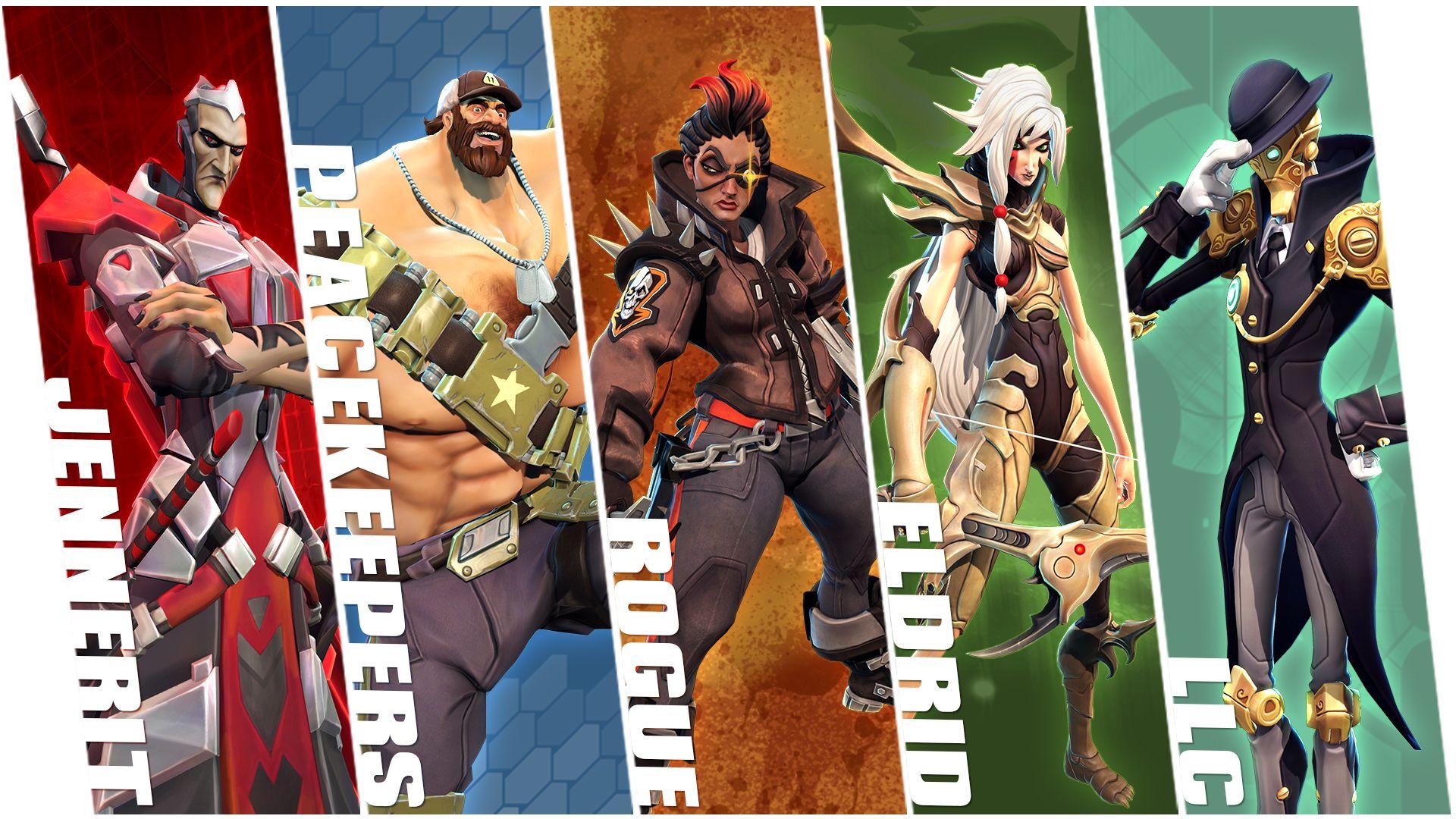 Battle Born Characters Go Wallpaper Hero Games Superhero