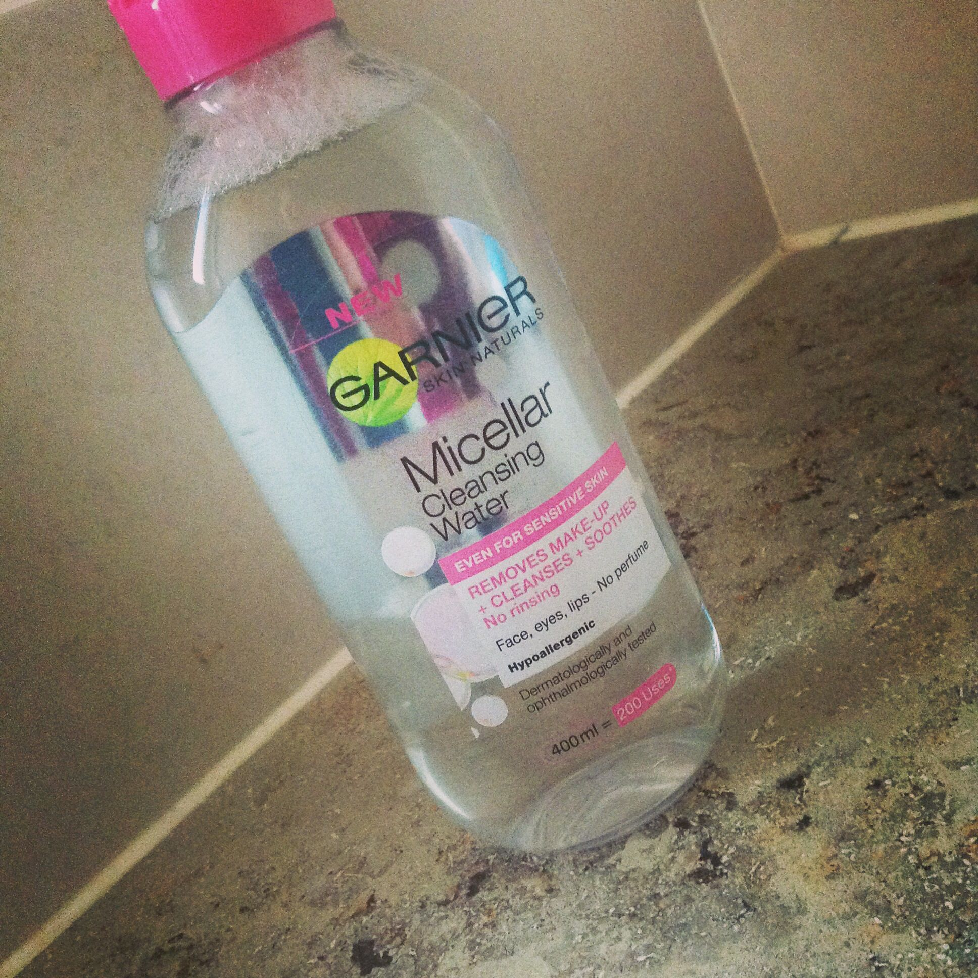 The new Garnier Micellar Cleansing Water Could this be