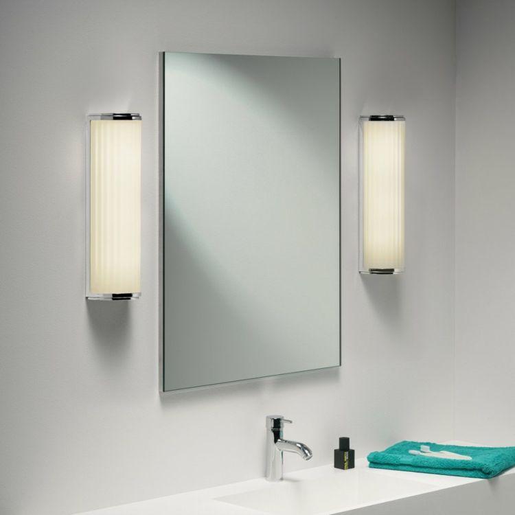 Espejos iluminacion ba o moderno apliques iluminaci n - Iluminacion espejo bano ...