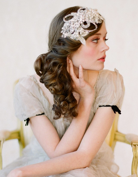 1920s Hairstyles For Long Hair 1920s Long Hair Gatsby Hair Headband Hairstyles