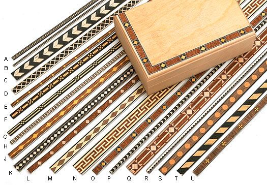 Stocks 5mm Wooden Banding Wooden Inlay Wood Inlay