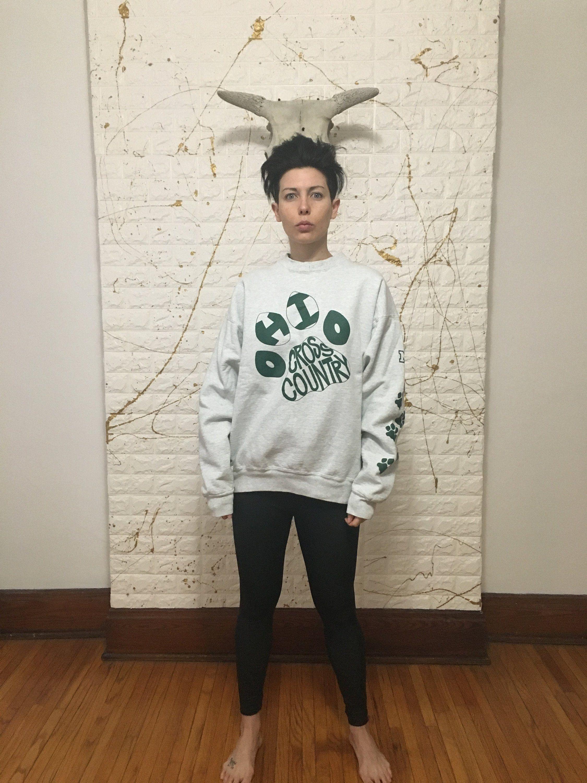 Vintage 90 S Fruit Of The Loom Ohio University Bobcats Etsy Vintage Sweatshirt Crew Neck Sweatshirt Sweatshirts [ 3000 x 2250 Pixel ]