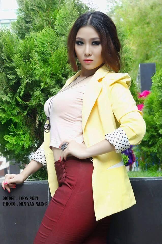 Hot myanmar celebrity videos