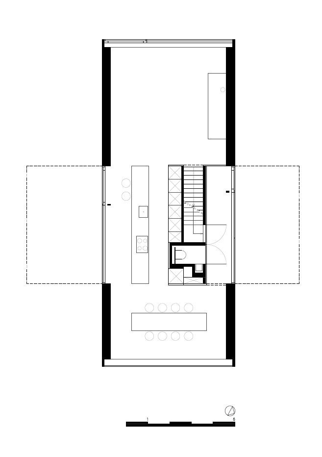 interior house plan. Contemporary Interior RECO Interior Floor Plan Small House Kitchen Corridor Division Terrace  Stairs Cross In