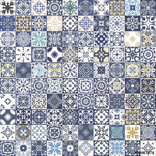 Gorgeous Fl Patchwork Design