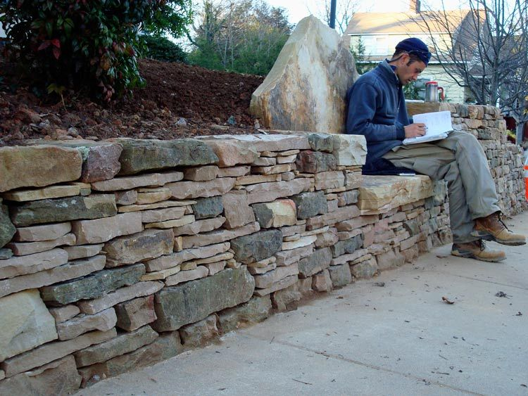 Landscaping Waterfalls Patios Retaining Walls Clear Creek