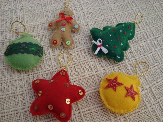 Christmas Felt Craft Ideas Part - 30: Christmas Ornament · Christmas Felt Ornaments, More Ideas - Crafts ...