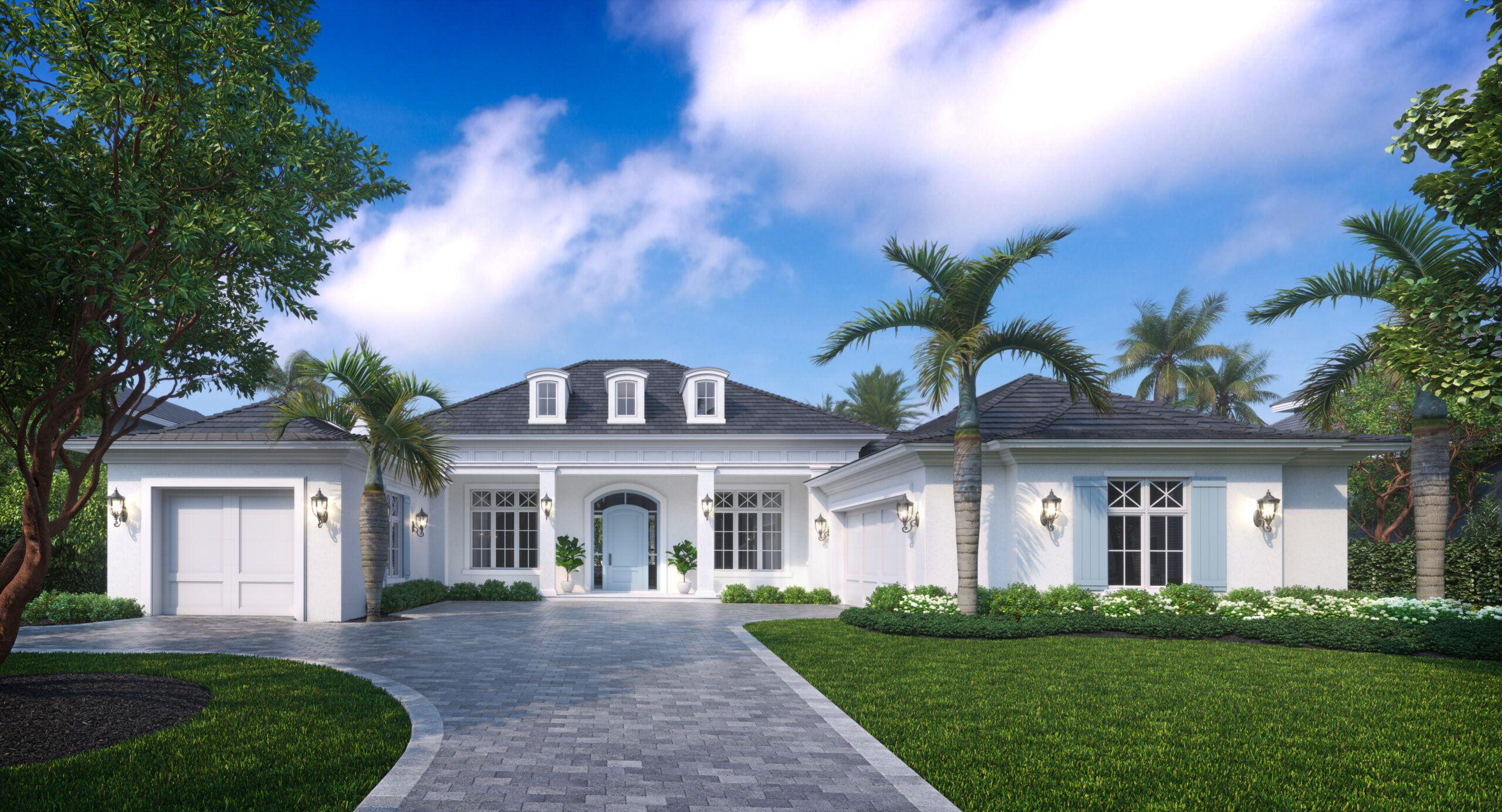Transitional Coastal House Plans Weber Design Group