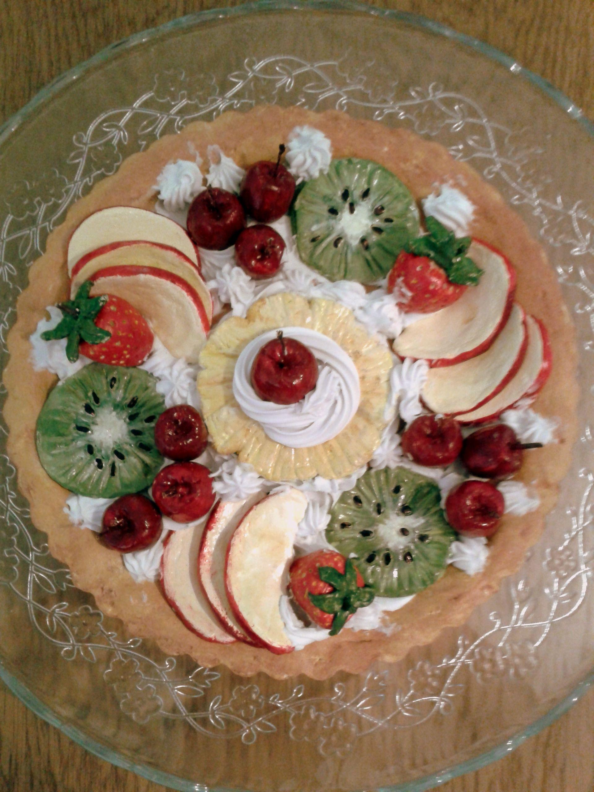 taart van klei