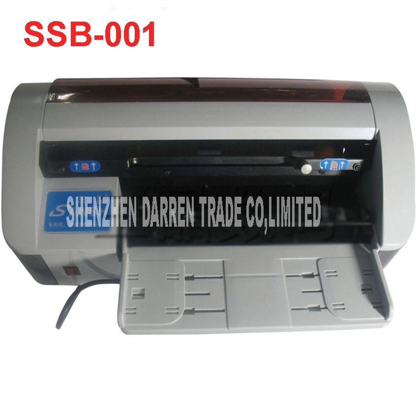 SSB-001 90x54mm Desktop Semi-Automatic Business Name Card Cutter ...