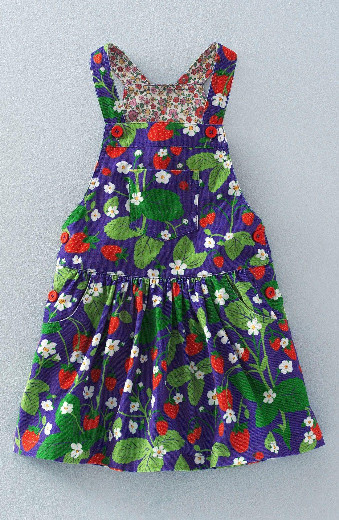 6e40d0150df70 Mini Boden 'Dungaree' Overall Dress (Toddler Girls, Little Girls & Big Girls )