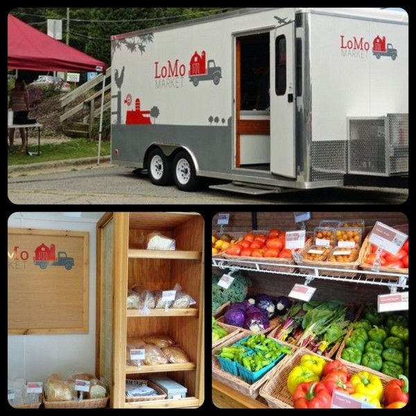 21 Days Of Local Food Lomomarket Mobile Food Pantry Farmers Market Grocery Foods