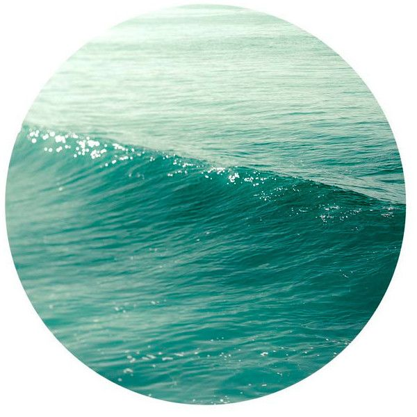 Geometric Decor, Wave photograph, modern minimalist, wall art,... ($30) ❤ liked on Polyvore