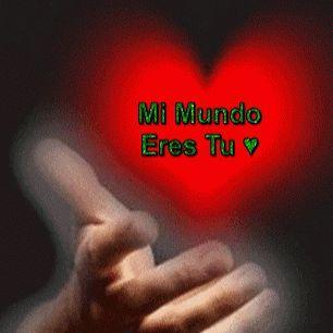 Imagen Gif De Amor Con Frases En Movimiento Y Con Brillo 4 Funny