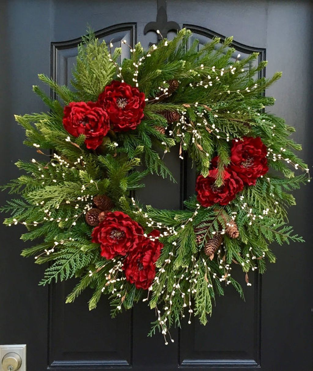 fabulous christmas wreaths decoration ideas to makes style to your home 21 dailypatio
