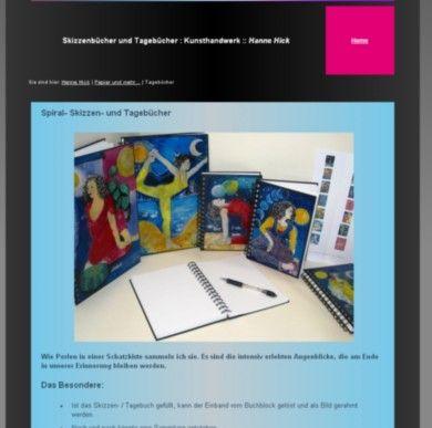 Künstlerskizzen und -tagebücher