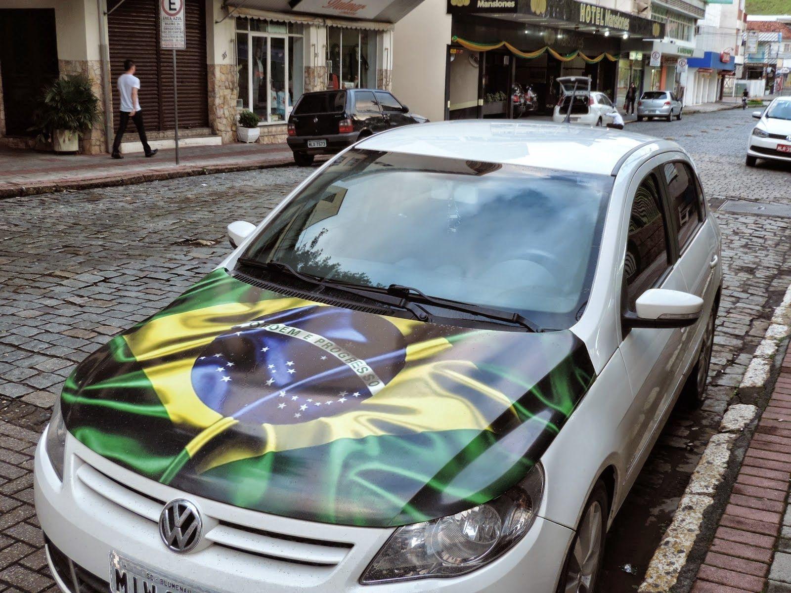 Gol capô do Brasil