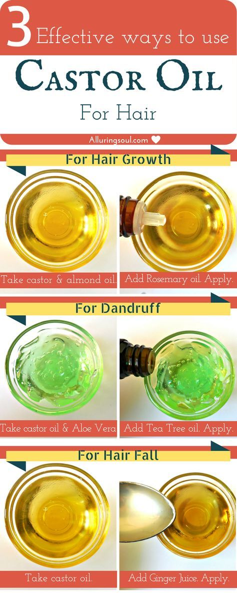 Top 3 Ways To Use Castor Oil For Hair Growth, Dandruff And Hair loss   Alluring Soul Gallery