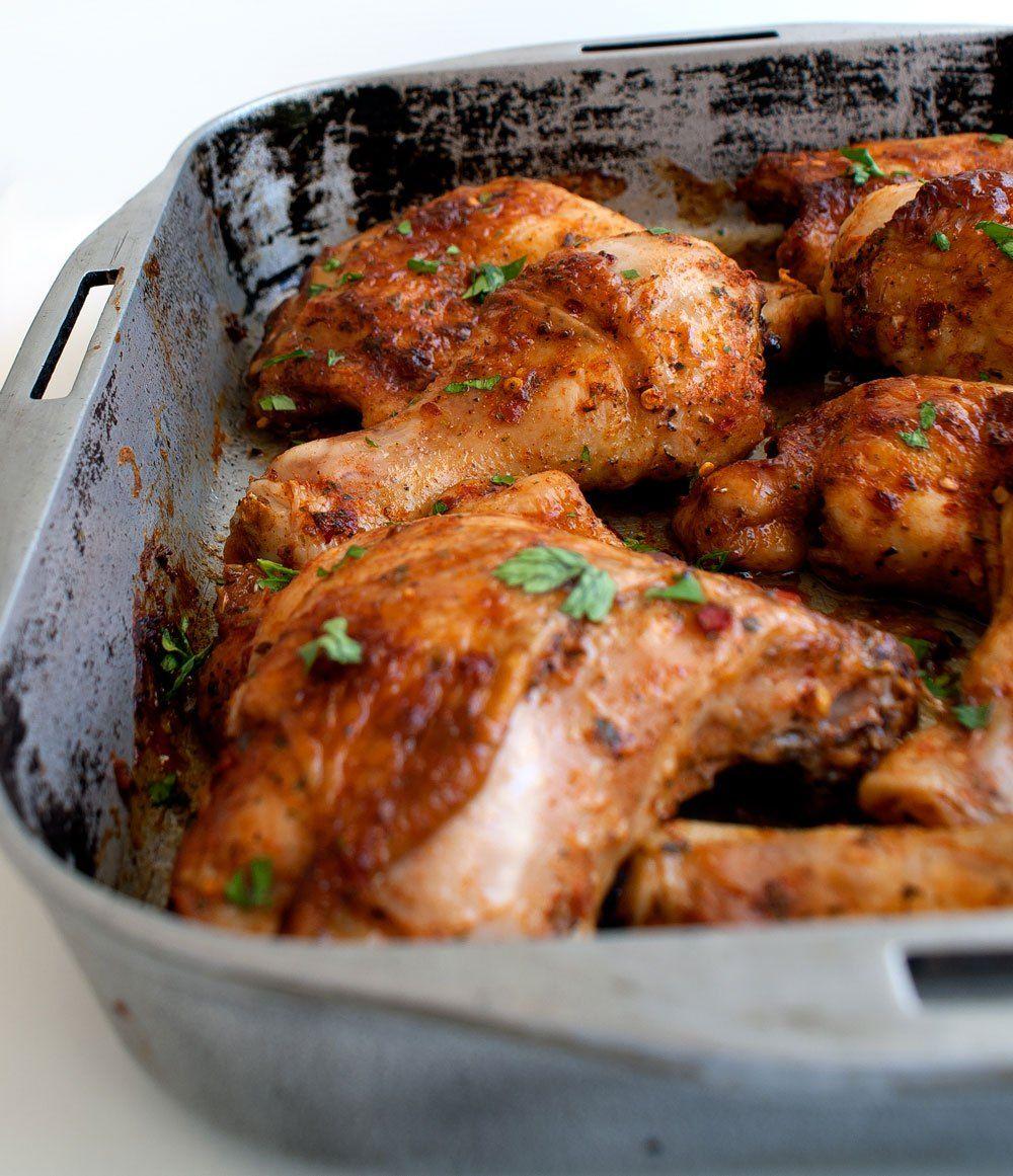 Oven baked peri peri chicken recipe peri peri chicken dishes forumfinder Choice Image