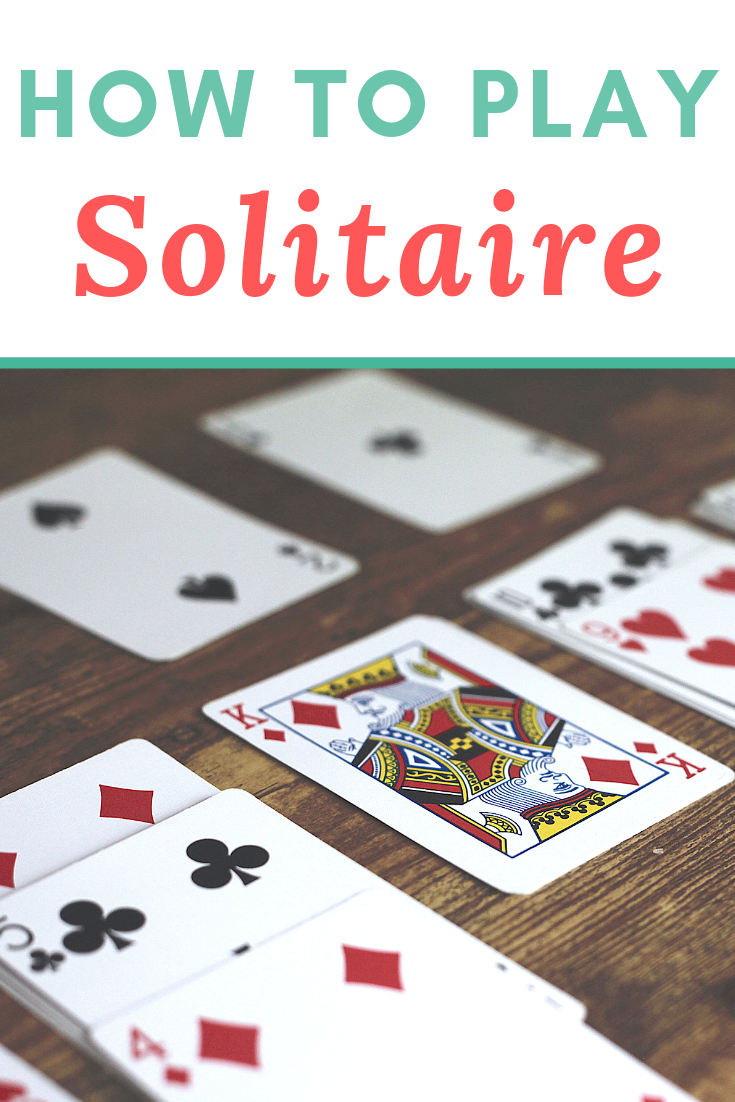 How to Play Solitaire (With images) Playing solitaire