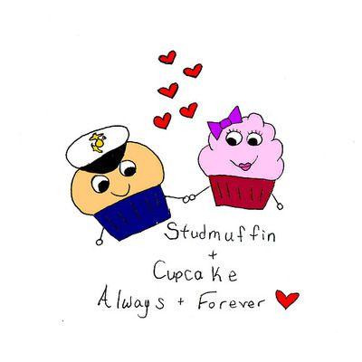 Aww He S Dressed As A Marine P I Ll Always Be Your Cupcake Lol A J K 3 Aww My Love Lol